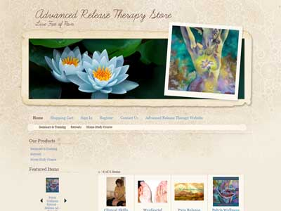 Screenshot from Advanced Release Therapy Store